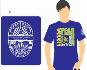 2017 Pear Run - Runners T-shirt