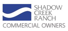 Shadow Creek Ranch Commercial Owners